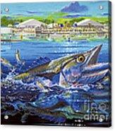 Jacksonville Kingfish Off0088 Acrylic Print
