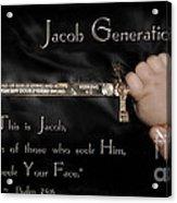 Jacob Generation Acrylic Print
