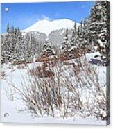 Jacque Peak Acrylic Print