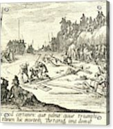 Jacques Callot French, 1592 - 1635. The Crucifixion Le Acrylic Print