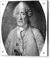 Jacques De Vaucanson (1709-1782) Acrylic Print