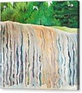 Jagala Waterfalls  Acrylic Print