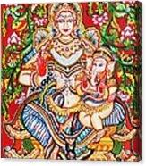 Jaganmatha Acrylic Print