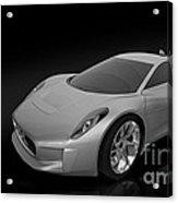 Jaguar C-x75 Acrylic Print