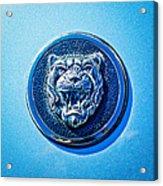 Jaguar Emblem -0056c Acrylic Print