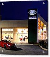 Jaguar Land Rover Harrisburg At Dark Acrylic Print