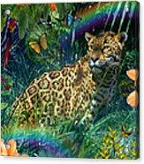 Jaguar Meadow  Variant 1 Acrylic Print