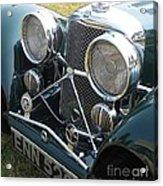 Jaguar Ss100 Acrylic Print