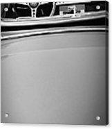 Jaguar Steering Wheel - Emblem Acrylic Print