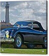 Jaguar Xk120 Roadster Acrylic Print