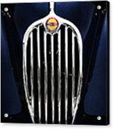 Jaguar Xk140 Grille Acrylic Print