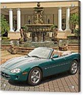 Jaguar Xk8 Acrylic Print