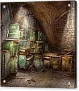 Jail - Eastern State Penitentiary - Cabinet Members  Acrylic Print by Mike Savad