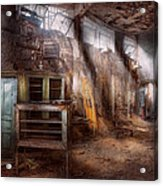 Jail - Eastern State Penitentiary - Sick Bay Acrylic Print by Mike Savad