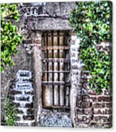 Jail Room Window Acrylic Print
