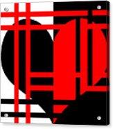 Jailed Heart Acrylic Print