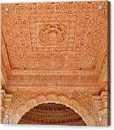 Jain Temple Ceiling - Amarkantak India Acrylic Print