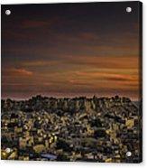 Jaisalmer Fort At Twilight Acrylic Print
