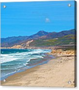 Jalama Beach Santa Barbara County California Acrylic Print