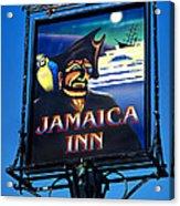 Jamaica Inn On Bodmin Moor Acrylic Print