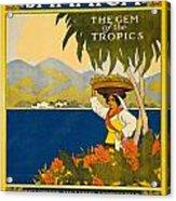 Jamaica The Gem Of The Tropics Acrylic Print