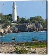 Jamaican Lighthouse Acrylic Print