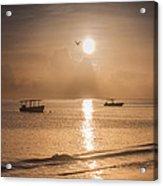 Jamaican Sunrise Acrylic Print