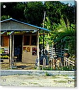 Jamaican's Party Store Acrylic Print