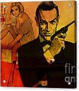 James Bond Acrylic Print