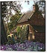 James Cook's Cottage Acrylic Print