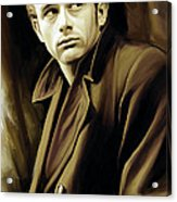James Dean Artwork Acrylic Print
