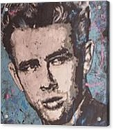 James Dean Blues Acrylic Print by Eric Dee