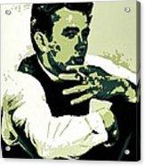 James Dean Poster Art Acrylic Print
