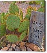 James Hickey Shot  Acrylic Print