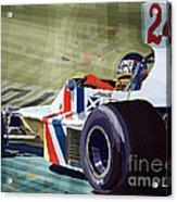 James Hunt 1975 Hesketh 308b Acrylic Print
