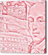 James Madison- 4th Us President Acrylic Print