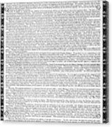 James Madison Memorial Acrylic Print