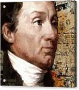 James Monroe Acrylic Print by Corporate Art Task Force