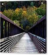 James River Footbridge Acrylic Print
