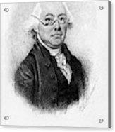 James Wilson (1742-1798) Acrylic Print