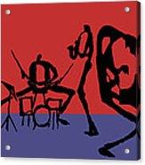 Jammin Jazz Quintet Acrylic Print