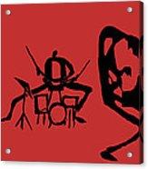 Jammin Jazz Trio Acrylic Print