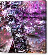 Jammin Out Digital Guitar Art By Steven Langston Acrylic Print