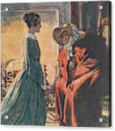 Jane And The Gipsy Acrylic Print