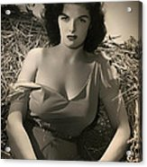 Jane Russell In The Outlaw Acrylic Print