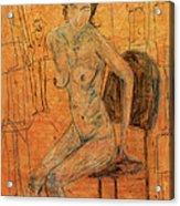 Jane Acrylic Print