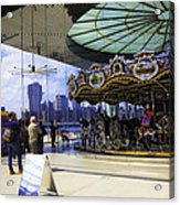 Jane's Carousel 2 In Dumbo - Brooklyn Acrylic Print