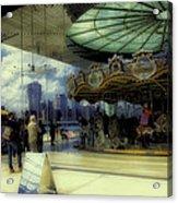 Jane's Carousel 3 In Dumbo Acrylic Print