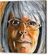 Janet Acrylic Print