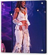 Janet Jackson-03 Acrylic Print